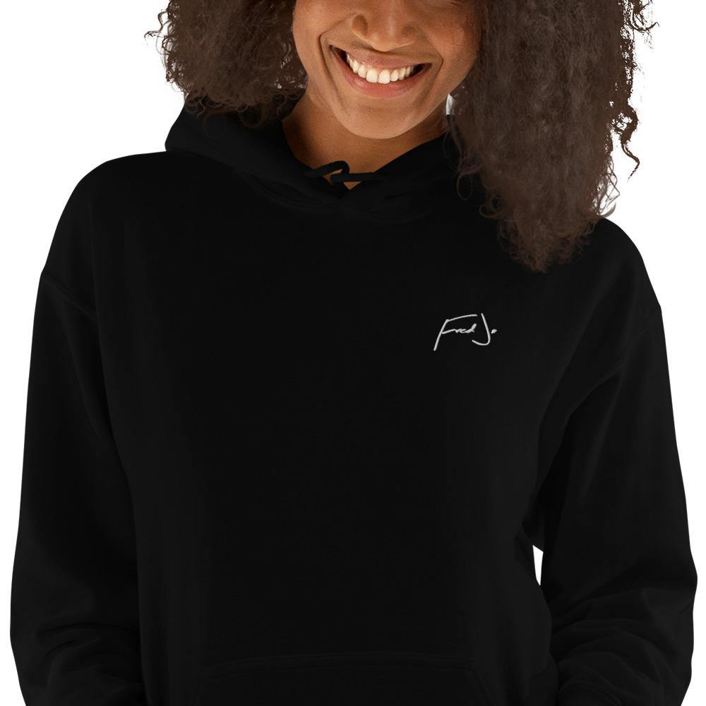 Fred Jo Black Unisex Hoodie - Fred jo Clothing