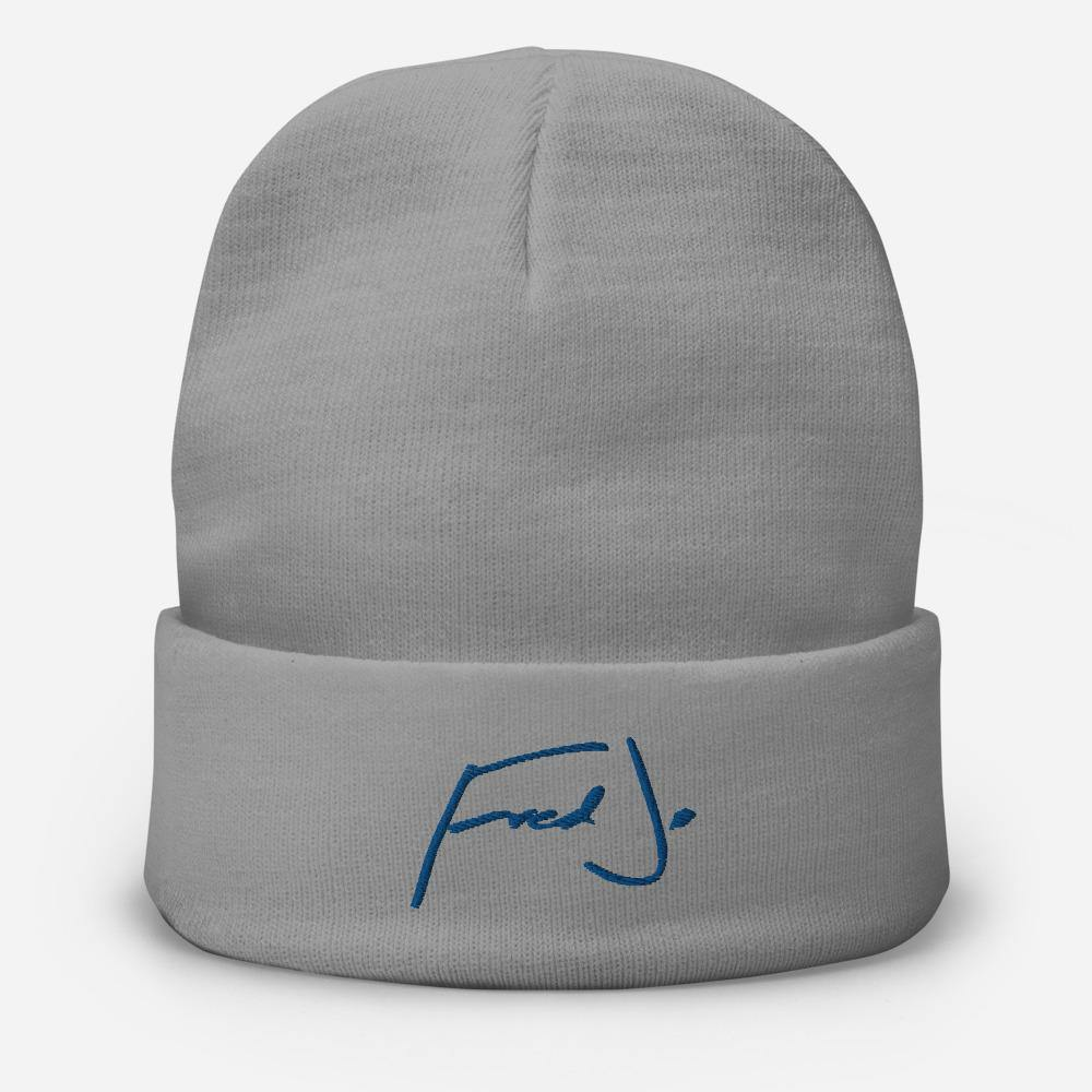 Fred Jo Embroidered Beanie - Fred jo Clothing
