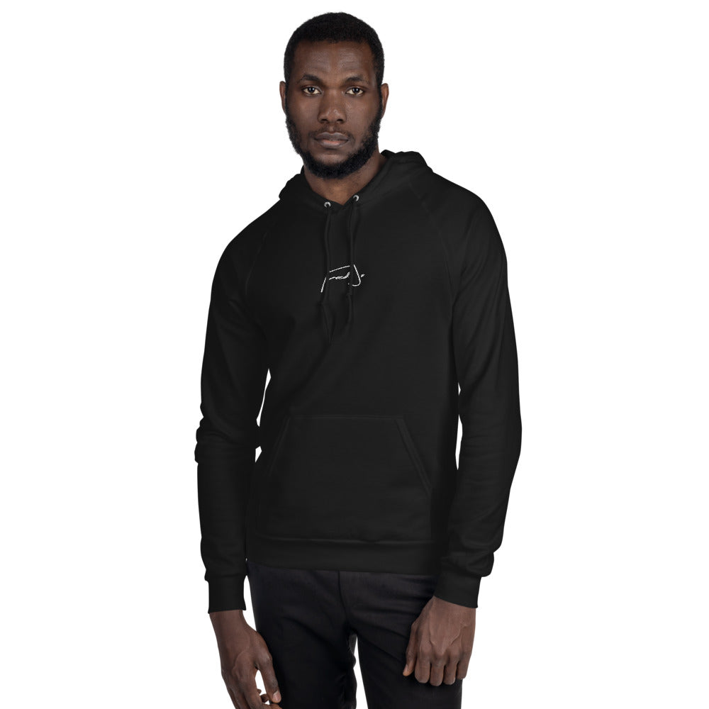 Fred Jo Unisex Fleece Hoodie - Fred jo Clothing