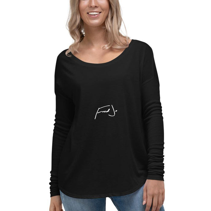 Fred Jo Ladies' Long Sleeve Tee - Fred jo Clothing