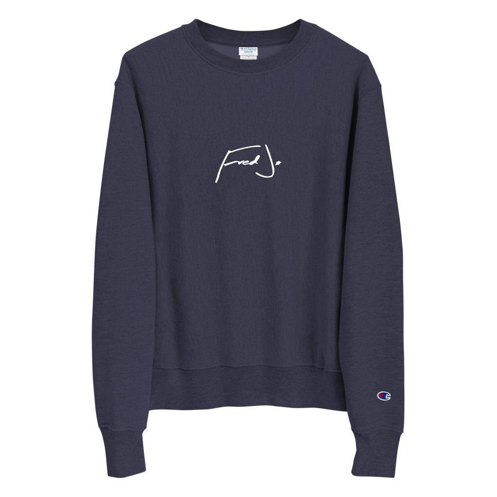 Fred Jo Champion Sweatshirt Paris Tokyo Los Angeles Edition - Fred jo Clothing