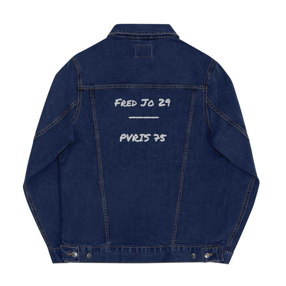 Fred Jo Unisex denim jacket - Fred jo Clothing