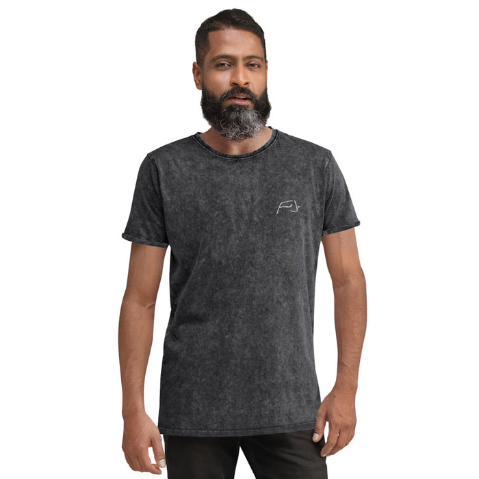 Fred Jo Denim T-Shirt - Fred jo Clothing