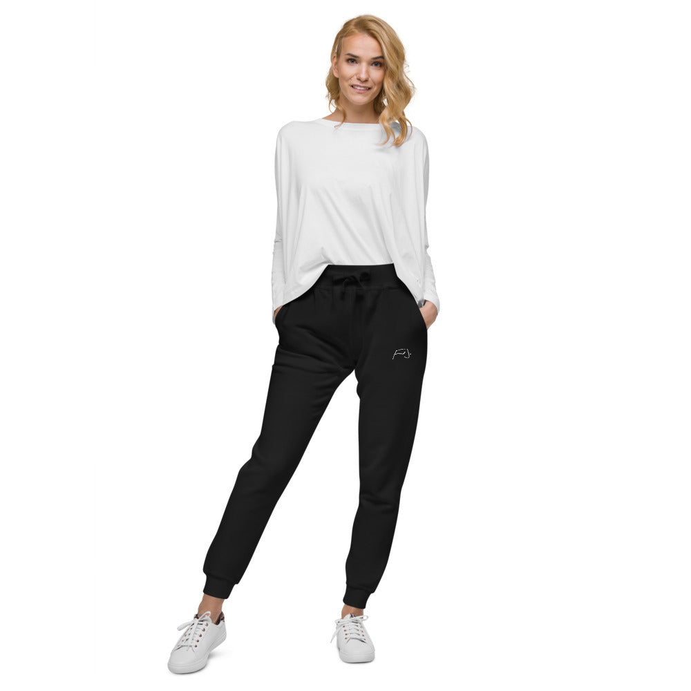 Fed Jo Unisex fleece sweatpants - Fred jo Clothing