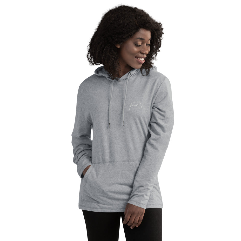 Fred Jo Unisex Lightweight Hoodie - Fred jo Clothing