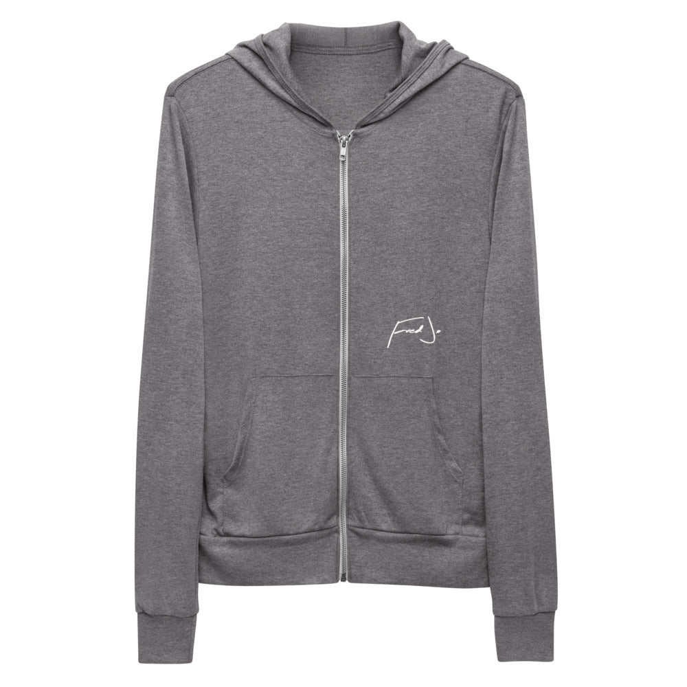 Fred Jo Unisex zip hoodie - Fred jo Clothing