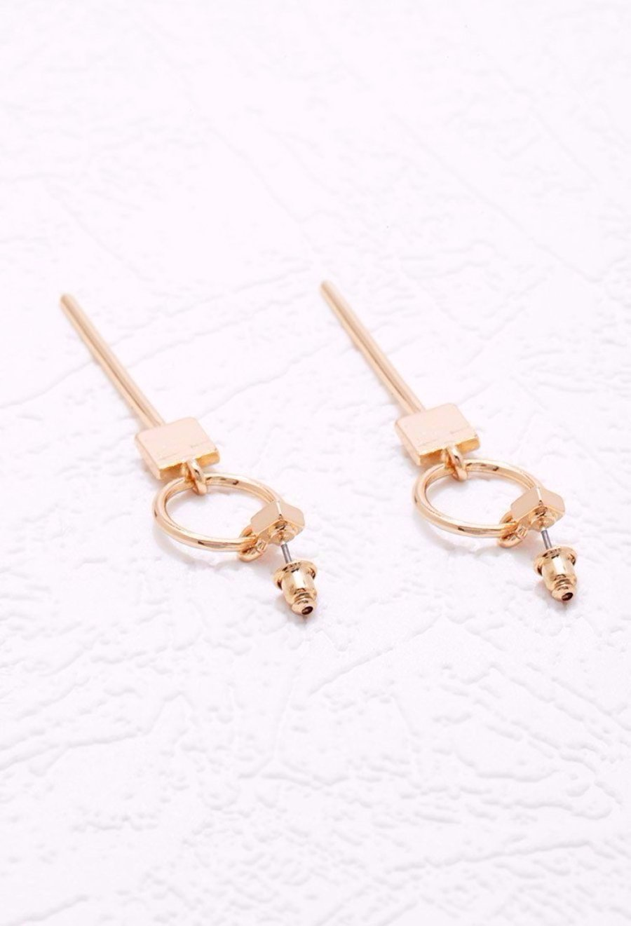 jewelry item round popular in most fashion earrings limited from women brincos time glass trendy zinc stud style alloy
