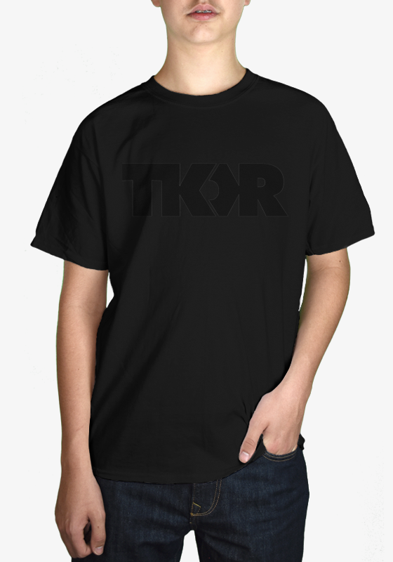 TKOR - Black on Black - Kids Tee