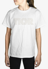 TKOR- White on White - Kids Tee