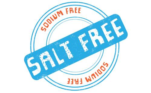 Salt Free Products