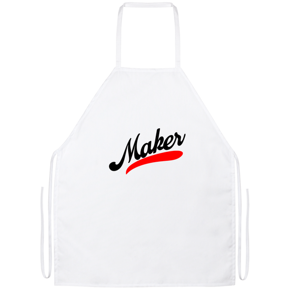 Maker Apron - White / One Size
