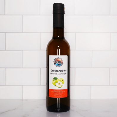 Green Apple White Balsamic Vinegar (375 ml / 12.68 OZ)