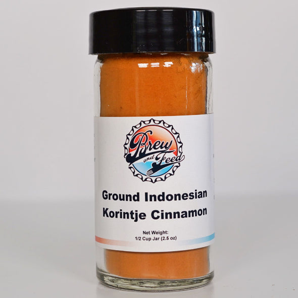 Ground Indonesian Korintje Cinnamon (2.5 OZ)