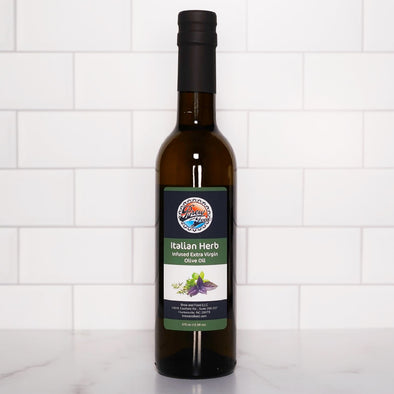 Italian Herb Extra Virgin Olive Oil (375 ml / 12.68 OZ)