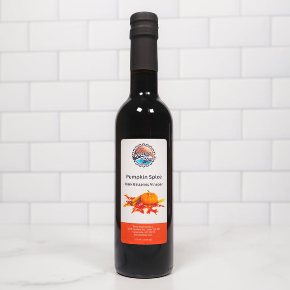 Pumpkin Spice Dark Balsamic Vinegar (375 ml / 12.68 OZ)