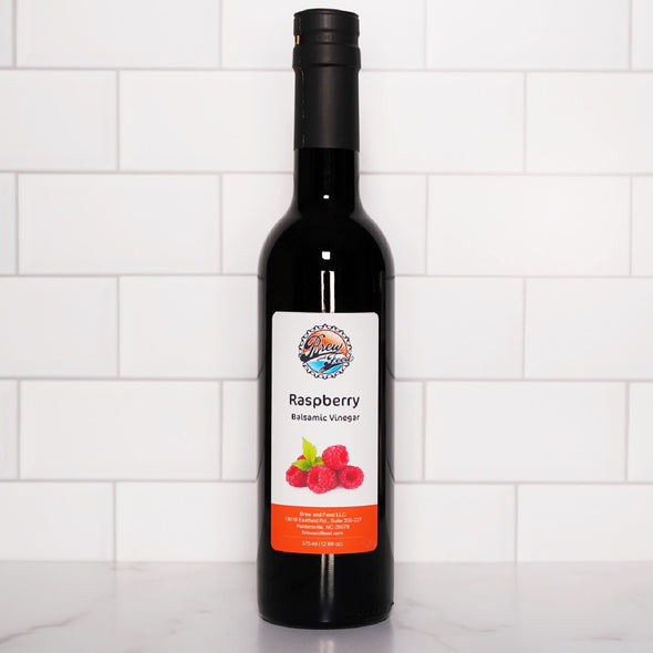 Raspberry Dark Balsamic Vinegar (375 ml / 12.68 OZ)