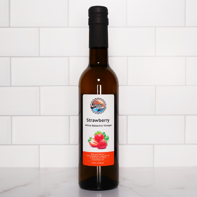 Strawberry White Balsamic Vinegar (375 ml / 12.68 OZ)