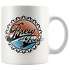 Brew and Feed 11oz Mug - Brew and Feed Bottle Cap Logo