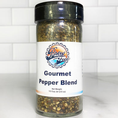 Gourmet Pepper Blend (SALT FREE) (1/2 Cup)