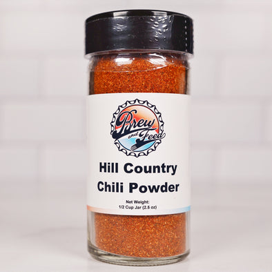 Hill Country Chili Powder (SALT FREE) (1/2 Cup)