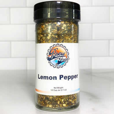Lemon Pepper Blend (SALT FREE) (1/2 Cup)