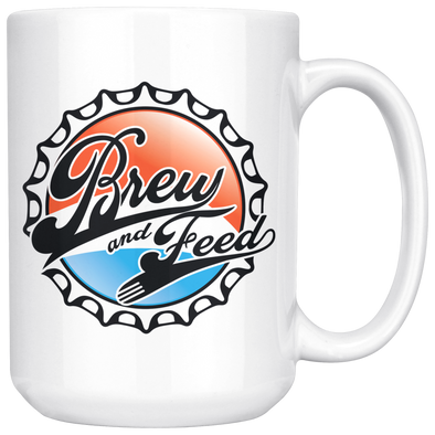 Brew and Feed 15oz Mug