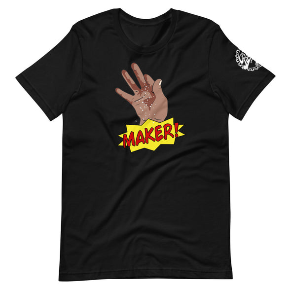 Short-Sleeve Unisex Black Maker T-Shirt