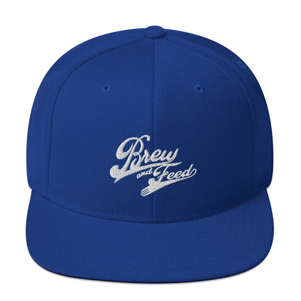 Brew and Feed Snapback Hat