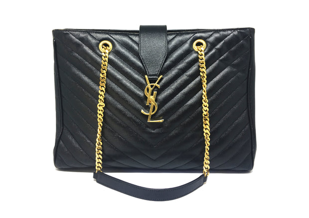 YSL Monogram Shopper Tote