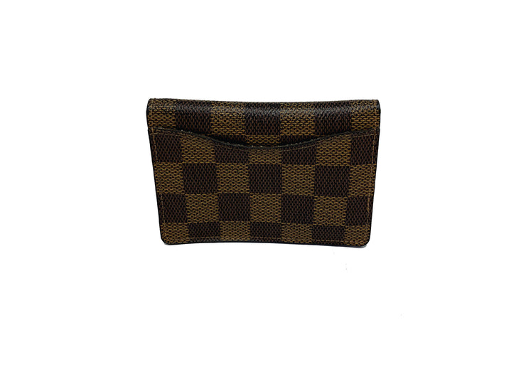 LV Card Holder Ébene Damier