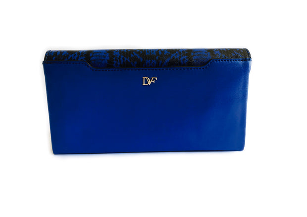 DVF Envelope Clutch (Snake)