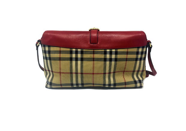 Burberry Horseferry Canvas Shoulder