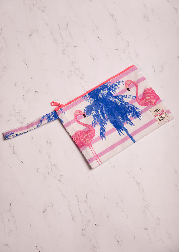 Pouch Pink Flamingo
