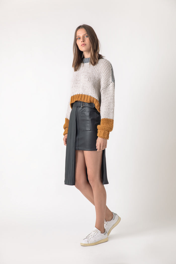 Templo Mayor Creme Sweater