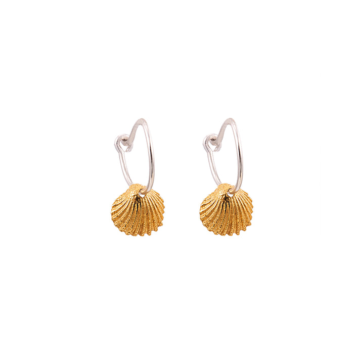 By the Sea Earrings - Shell
