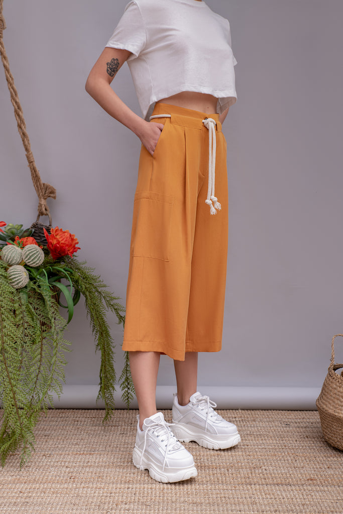 Old Fashioned Mustard culottes