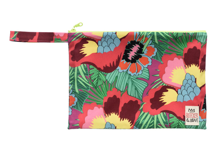 Pouch Floral Tropical