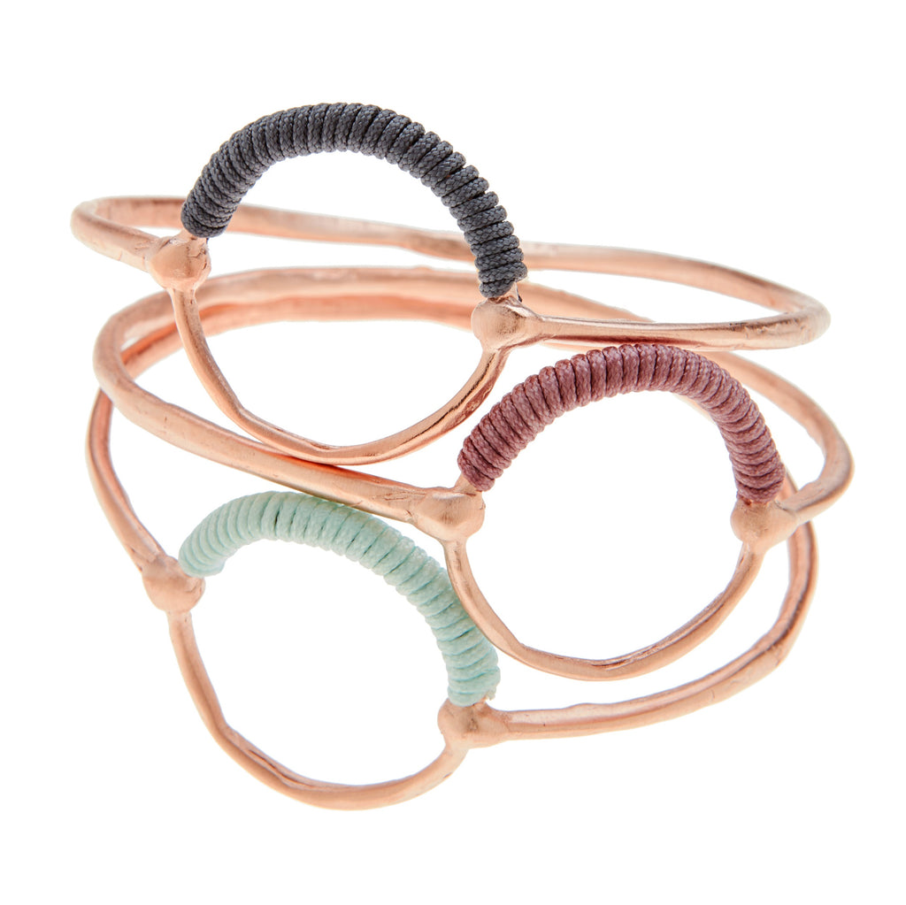 Helios Rose Gold Bangle