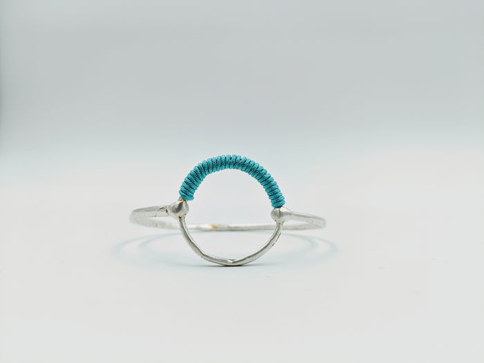 Helios Bangle Silver