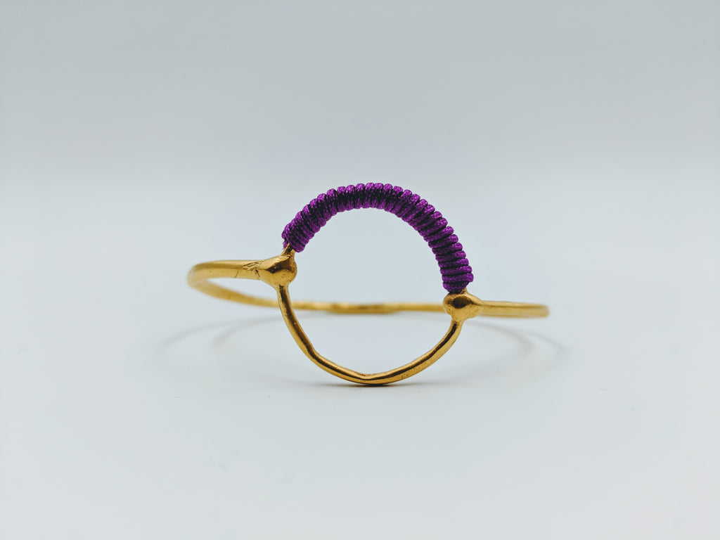 Helios Gold Bangle