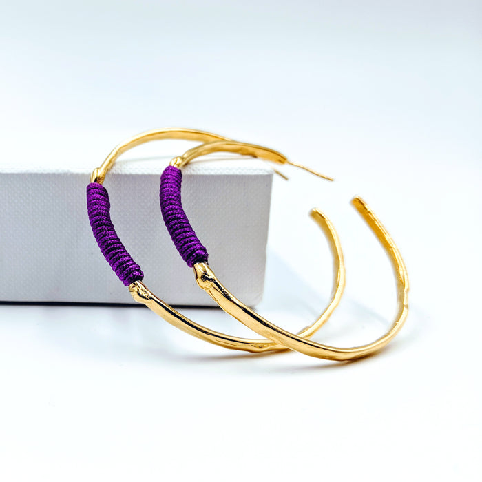 Chromate Gold Hoops