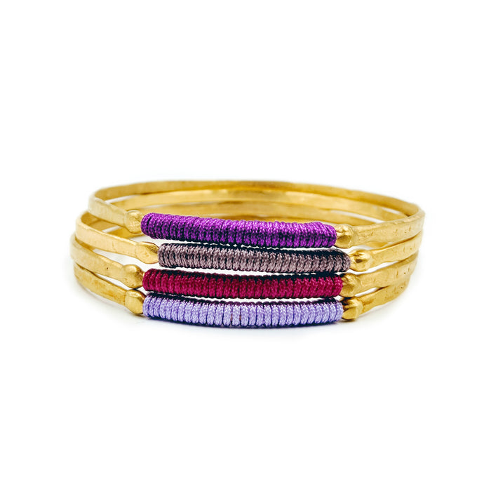 Chromata Bangle Gold