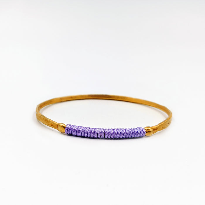Chromata Bangle Gold - Lilac