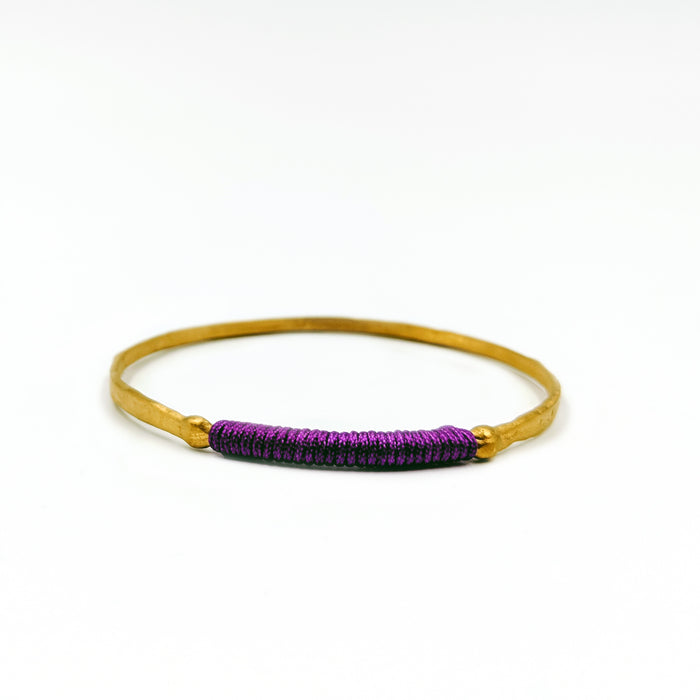 Chromata Bangle Gold-Purple