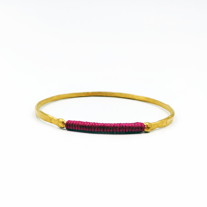 Chromata Bangle Gold - Watermelon