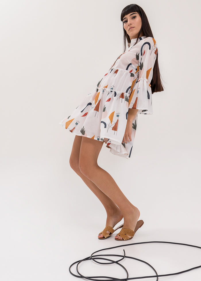 Giornata Kaftan/ Dress Giraffe