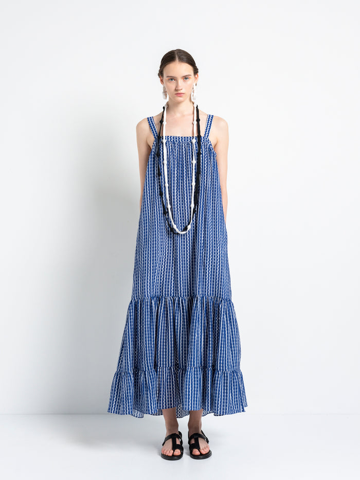 Cycladic Land – Maxi Dress