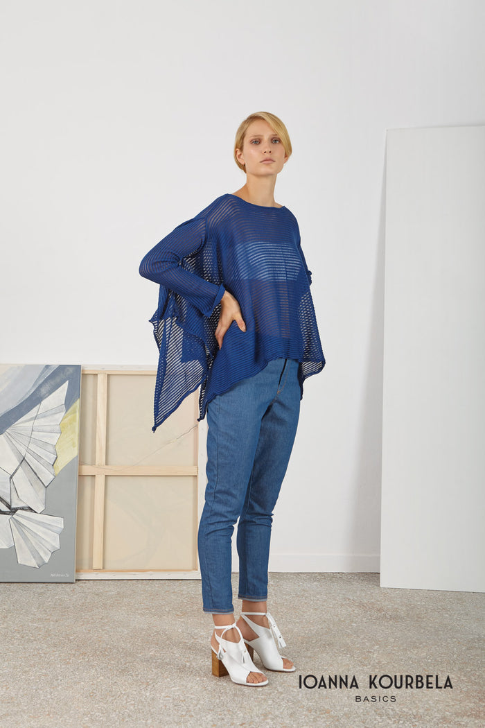 Archetypes Asymmetric Blouse