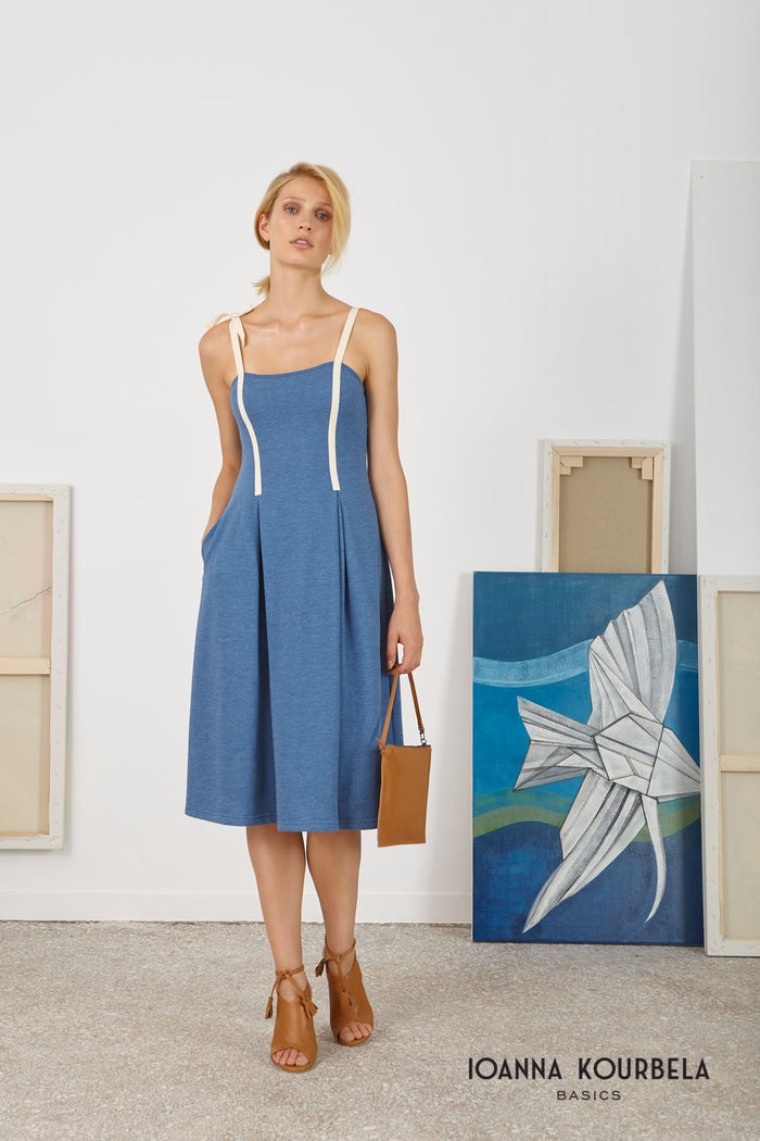 Effortless Sleeveless Midi Dress