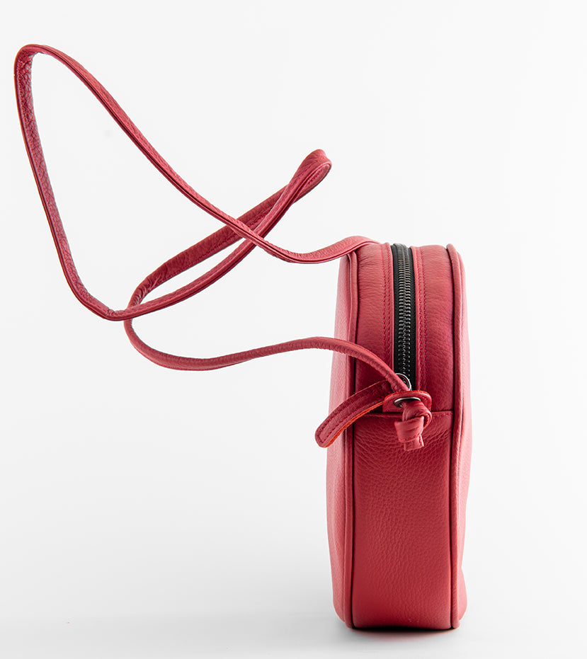 Flaneur Clutch/ Shoulder bag Red